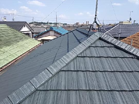屋根塗装 酒々井町