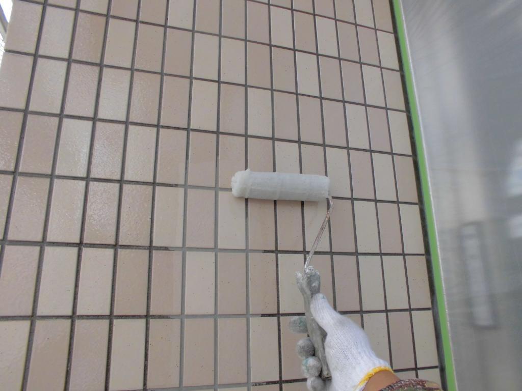 外壁クリヤー塗装 稲毛区
