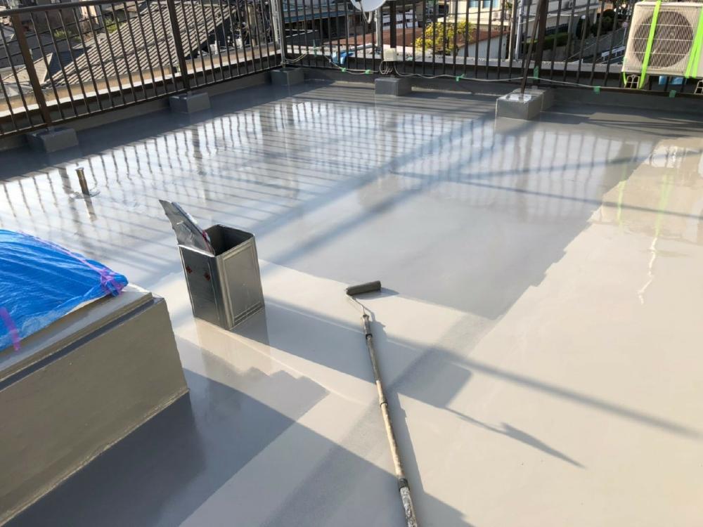 ウレタン塗膜防水 習志野市